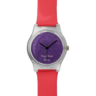 Añada su texto, reloj de encargo colorido y
