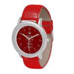 Añada su texto relojes de pulsera
