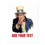 Añada su texto tarjeta postal