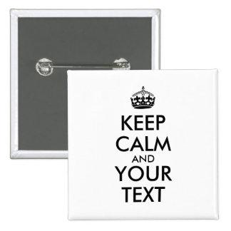 Añada su texto y hágalo para guardar la plantilla pin