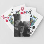 Añada sus naipes de la foto barajas de cartas