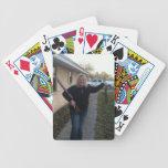 Añada sus naipes de la foto cartas de juego