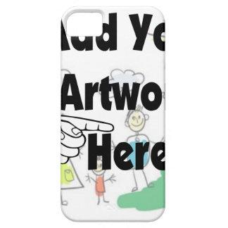Añada sus propias ilustraciones o las iPhone 5 fundas