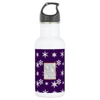 Añada sus propios copos de nieve de la púrpura de