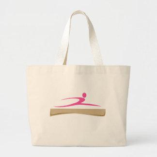 Añada un bolso conocido de la gimnasia bolsas
