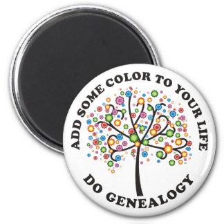 Añada un cierto color a su vida imán redondo 5 cm
