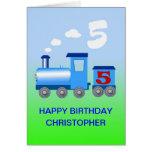 Añada un nombre a una 5ta tarjeta de cumpleaños