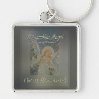 ¡Añada un personalizar conocido del ángel de guard Llavero