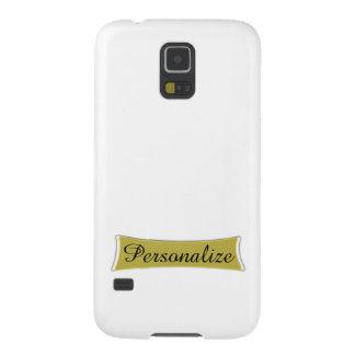 Añada una foto o un caso del fondo y conocido de S Carcasas Para Galaxy S5