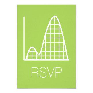 Añade para arriba en la tarjeta de RSVP del Invitación 8,9 X 12,7 Cm