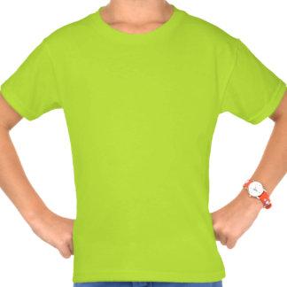Anadón amarillo lindo feliz camiseta