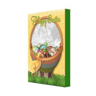 Anadón feliz de Pascua Impresión En Lona