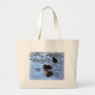 Anadones del pato silvestre bolsa tela grande