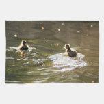 Anadones del pato silvestre toalla