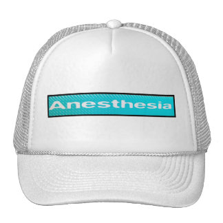 Anaesthesia Cap Trucker Hat