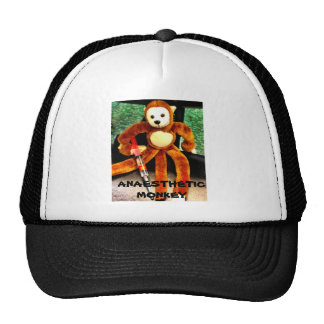 ANAESTHETIC MONKEY CAP TRUCKER HAT