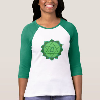 Anahata Chakra Ladies Burnout T-Shirt