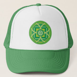Anahata chakra Mandala Trucker Hat