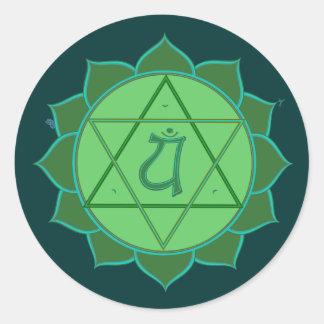 Anahata Chakra Sticker