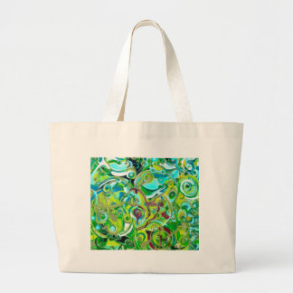 Anahata - energies open canvas bags
