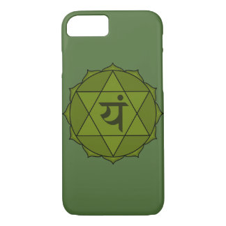 anahata or heart chakra iPhone 7 case