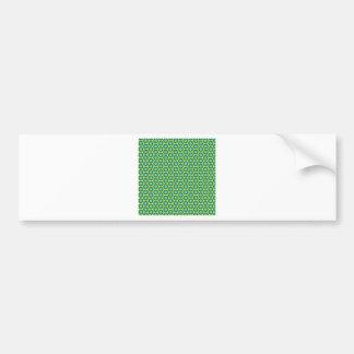 Anahata pattern bumper sticker