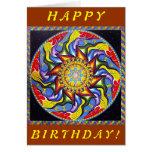 Anahata Pinata (Birthday Card) Card