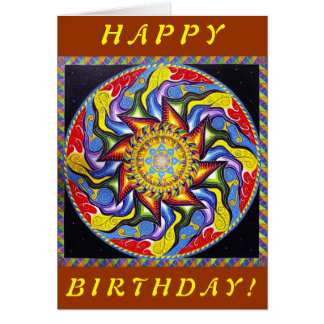 Anahata Pinata (Birthday Card) Card
