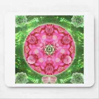 Anahata Rose Mouse Pad