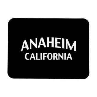Anaheim California Imán Foto Rectangular