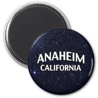 Anaheim California Imán Redondo 5 Cm