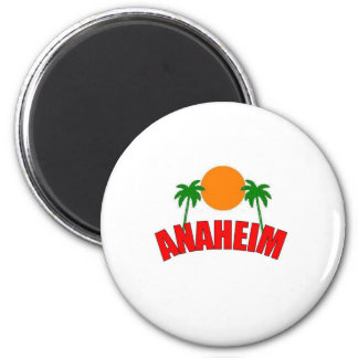 Anaheim, California Imán Redondo 5 Cm