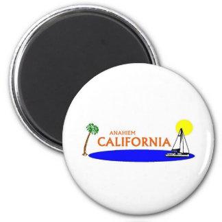 Anaheim, California Refrigerator Magnet
