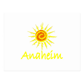 Anaheim, California Tarjeta Postal
