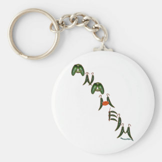Anaheim Chili Peppers Keychain
