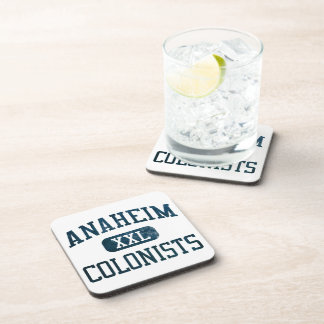 Anaheim Colonists Athletics Drink Coasters