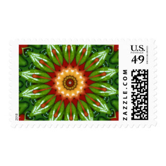 Anaheim Peppers Postage Stamp
