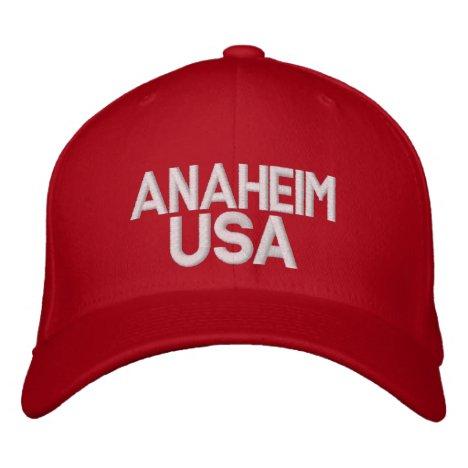 Anaheim USA Cap