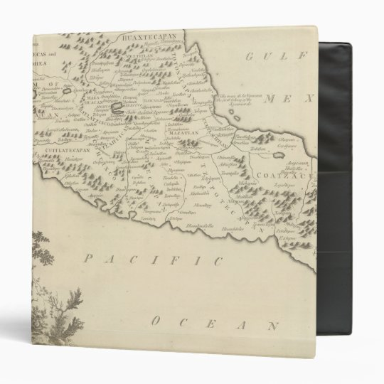 Anahuac, or the Empire of Mexico 3 Ring Binder