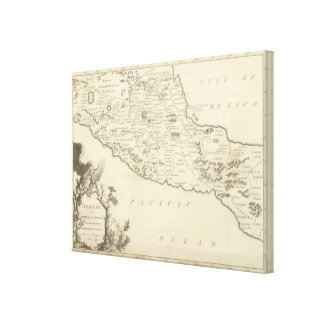 Anahuac, or the Empire of Mexico Canvas Print