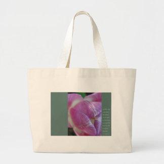 Anais Nin Quote Large Tote Bag