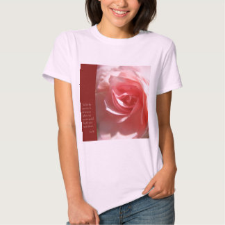 Anais Nin Quote tshirt in Pink