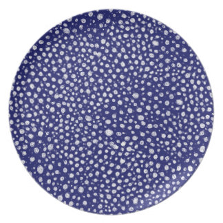 Anais'Pattern Melamine Plate