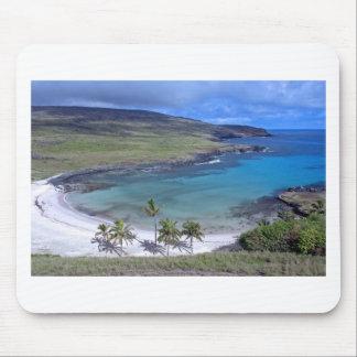 Anakena Beach Easter Island Mouse Pad