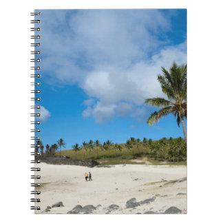 Anakena, Rapa Nui, Easter Island, Chile Notebook