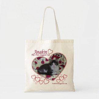 Anakin Two Legged Cat, Ladybugs Hearts, Kitten Bag