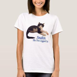 Anakin Two Legged Cat Logo, Cute Kitten Tshirt