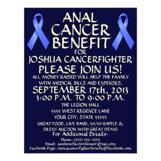 Anal Cancer Benefit Flyer