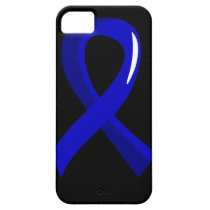 Anal Cancer Blue Ribbon 3 iPhone SE/5/5s Case