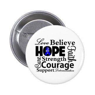 Anal Cancer Collage of Hope Button
